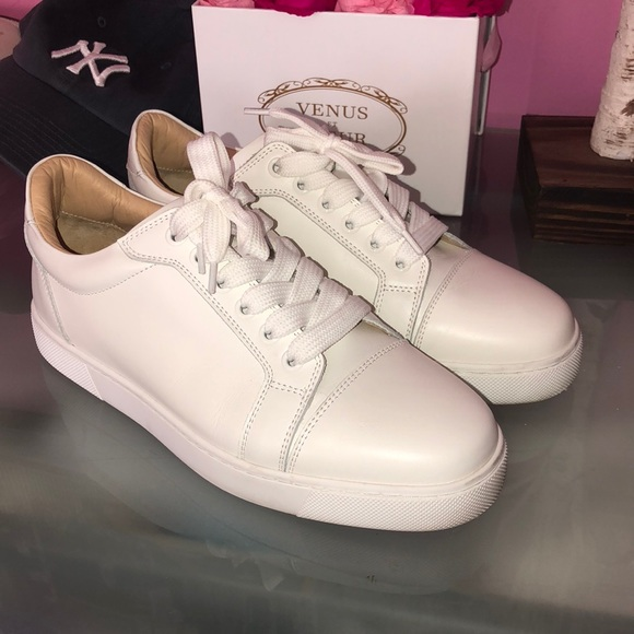 quality design 42856 09a00 Louboutin Veira lace up sneaker